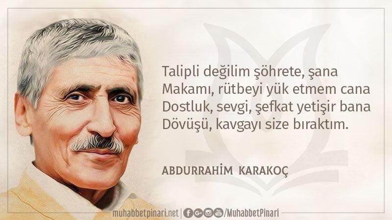 Abdurrahim Karakoç - Taksim Şiiri